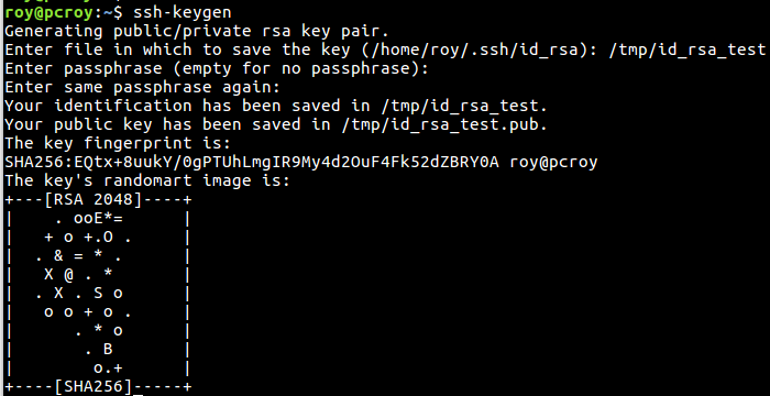 Key-based SSH login met PuTTY