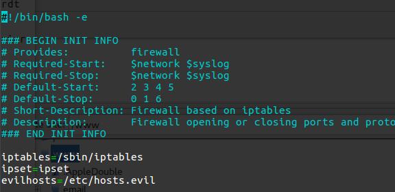 Handleiding Iptables firewall en ipset blacklist