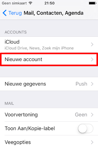 perfacilis mail ios 03 new account